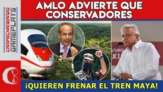 AMLO DA IMPACTANTE ANUNCIO DEL TREN MAYA ESTE DOMINGO ¡OPOSITORES QUIEREN FRENARLO!