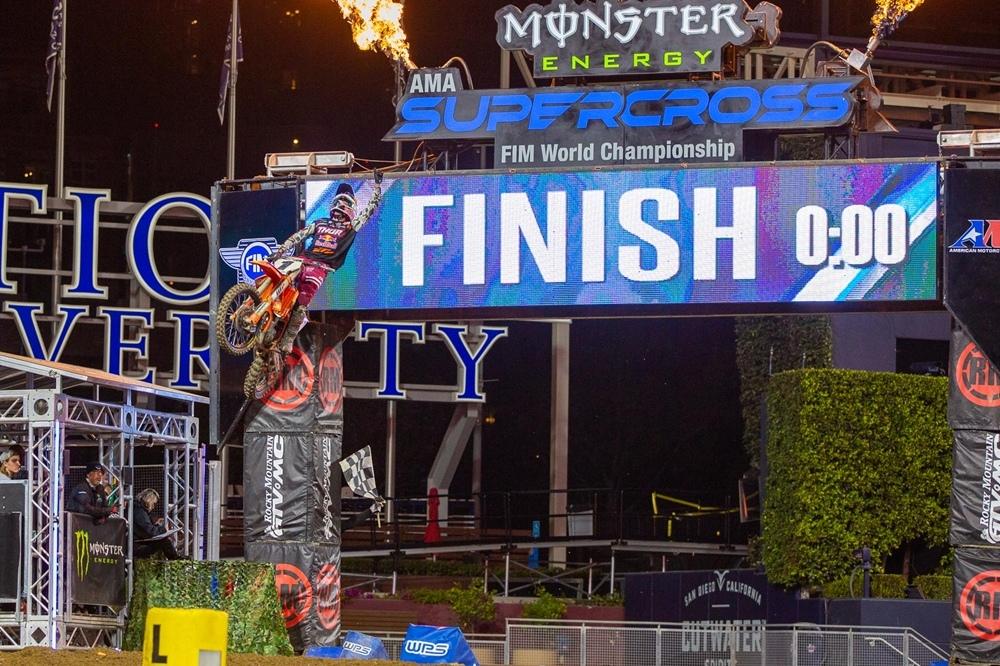 AMA Supercross 2020, этап 6 - Сан-Диего