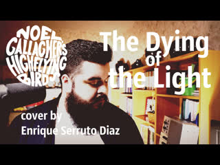 Noel Gallagher's High Flying Birds - The Dying of The Light (acoustic cover by Enrique Serruto Diaz)