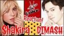 Димаш / шоу Голос / Шакира в шоке / SOS / Версия Спортманн