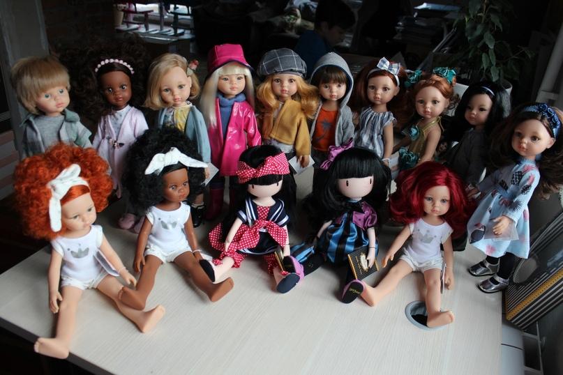 Куклы Las Amigas (и две Gorjuss) Paola Reina. Фото STEPHA dolls.