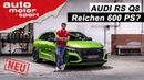 Audi RS Q8 Reichen 600 PS? Sitzprobe Review auto motor und sport