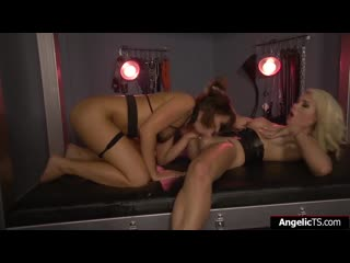 Busty tgirl aubrey kate fucking squirt queen adriana chechik (shemale тs sissy)