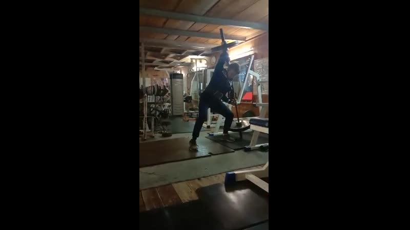Подъем Штейнберга 100 кг. свой вес 72кг