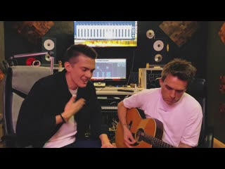 Семья (acoustic) kolunov feat. vlad topalov