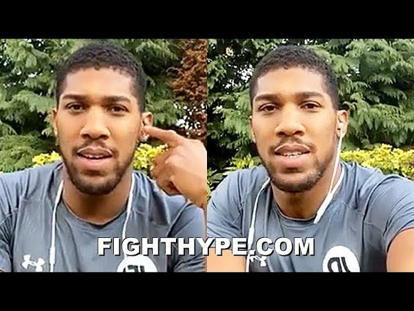 ANTHONY JOSHUA GOES LIVE ON MIKE TYSON BEATING ALI THE BEST BOXER REDEMPTION OVER RUIZ MORE