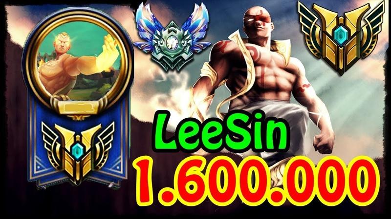 Xuất hiện thánh Lee Sin 1 6 triệu thông thạo rank Kim Cương combo chóng mặt