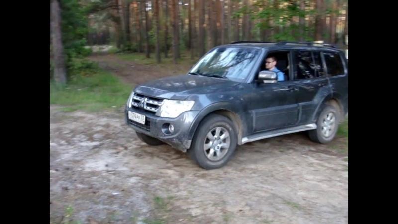 Mitsubishi Pajero IV 3 0 без заднего блока на горках