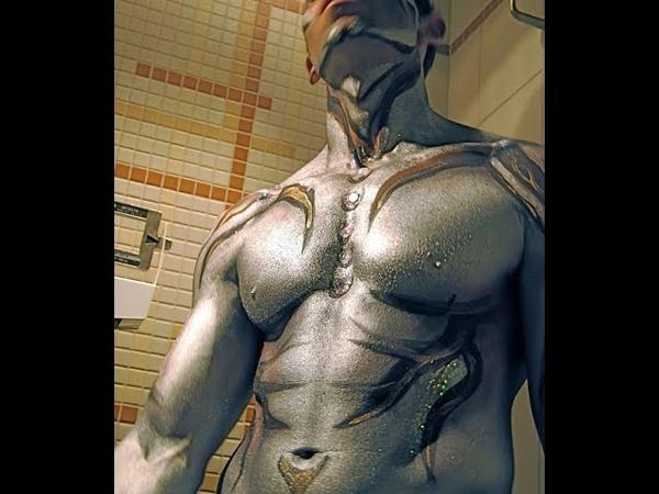 Профессиональный бодиарт на мужских телах Professional body art on men's bodies