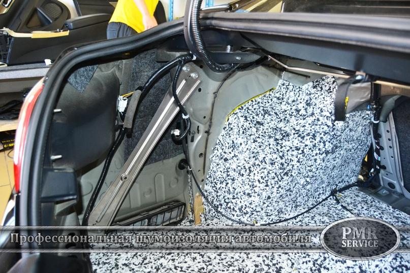 Шумоизоляция Nissan Teana, изображение №14