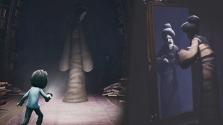 THE LADY CAUGHT ME... I CAN'T BELIEVE WHAT HAPPENED || LITTLE NIGHTMARES - THE RESIDENCE