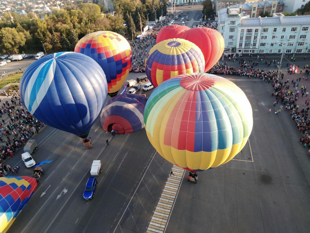 На День города в Курске снова устроят фестиваль воздушных шаров