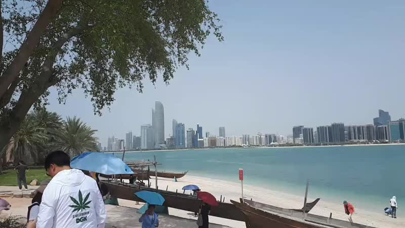 Набережная в Абу Даби