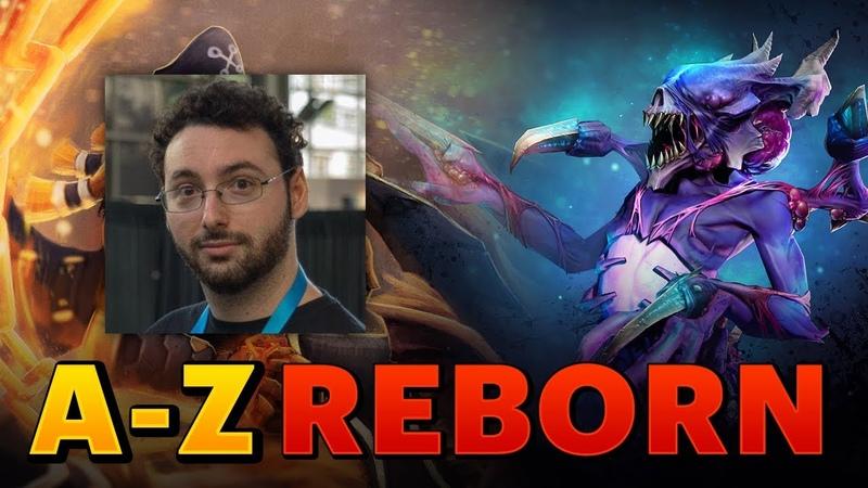 Dota 2 - A-Z Challenge Reborn - Bane Batrider (SUNSfan POV)