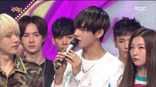 [HD] BTS V - MC Cut @ Music Core (150509)