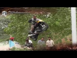 Making of Breathtaking Stunts From Magadheera -- Ram Charan, Kajal Aggarwal -- SS Rajamouli