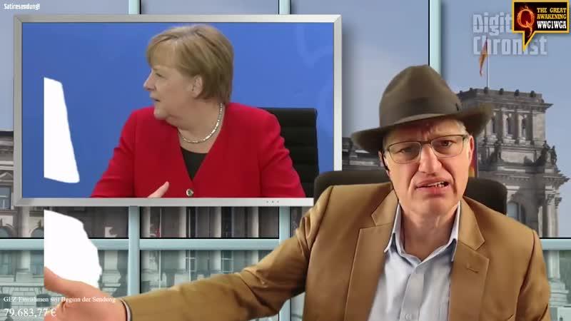 Merkel vertrauen und bis in den Untergang folgen
