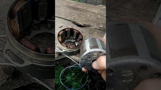 ремонт генератора мотоциклов, восход, минск.
