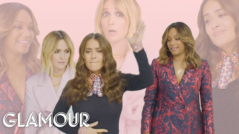 Salma Hayek Tiffany Haddish and Rose Byrne Take a Friendship Test Glamour