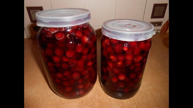 Варенье из вишни за 20 минут How to cook cherry jam