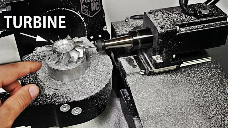 Worlds Smallest 5 Axis Milling Machine - Pocket NC V2