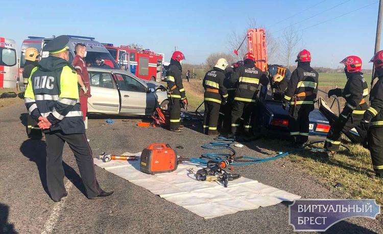 Водитель спровоцировал ДТП в Брестском районе, возбуждено уголовное дело