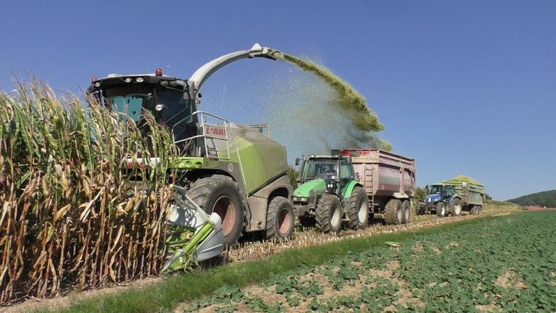 Big Corn Silage | Claas Jaguar 860 | Tractors in action | New Holland | John Deere | Claas