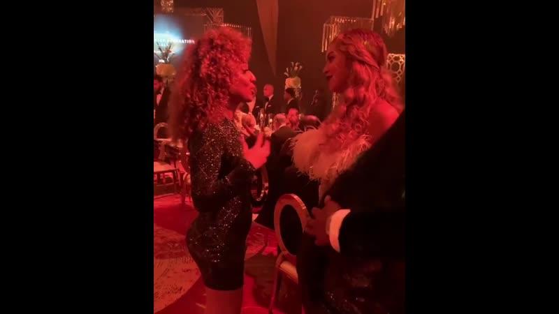 Beyoncé AllThatVal / Shawn Carter Foundation Gala [16.11.19]