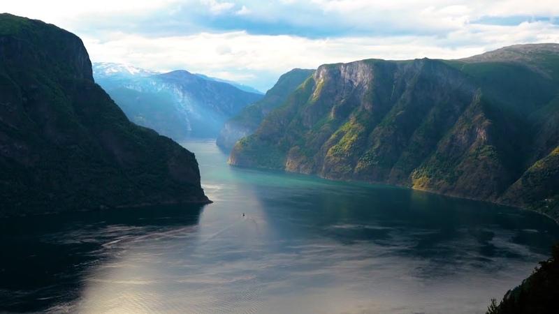 Beautiful Relaxing Music Norway's Nature Violin Music Flute Music Piano Music Harp Music ★124