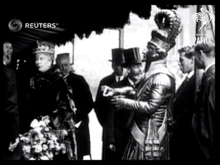King George V lays the foundation stone at University College Hospital (1923)
