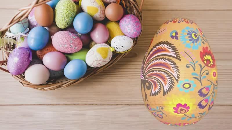Мультик про Пасхальные Яички 🎉🍭🍬 Самые красивые пасхальные яйца для детей Мультик про Пасху 0