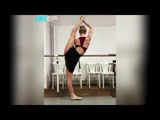 Sls unreal woman workout beautiful flexible strong girls _ female fitness motiva