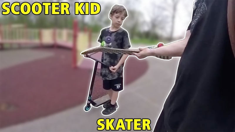 How Skaters Treat Scooter Kids...