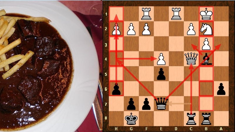 Alpha-Zero Style Stoofvlees shows outside passed pawn power || Black vs Ginkgo || TCEC 16