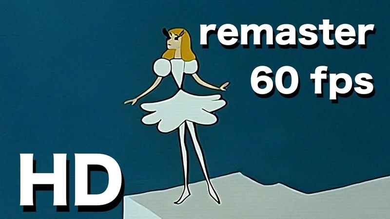 🇧🇷 Thumbelina Andersen 💎 1964 60fps 4K animado conto de fadas obra prima da animação