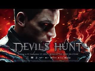 "Devil's hunt трейлер ""destroyer"" (nintendo switch)"