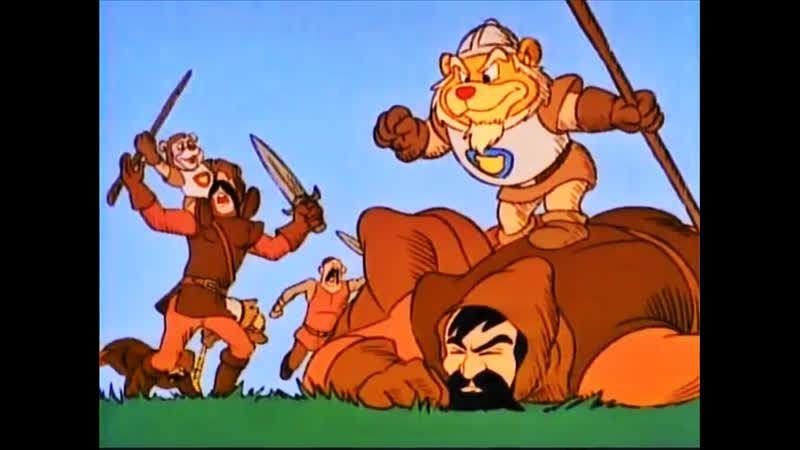 28 Рыцари ордена Гаммадун ♥ Приключение мишек Гамми Мультики для детей