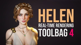 Real-time Render in Marmoset Toolbag 4 - Helen of Troy