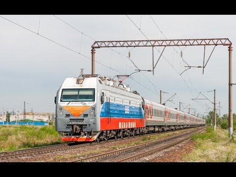 ZDSimulator cценарий пассажирского поезда №460 Адлер Тамбов часть 1
