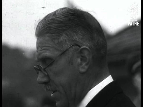Von Papen Speaking - Elections In Saar (1930-1939)