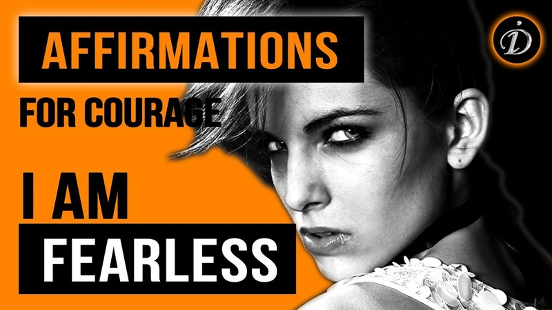 I AM FEARLESS Affirmations for power inner strength and massive courage InstaDor