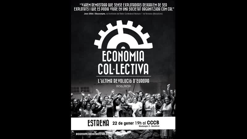 Economia col·lectiva L'última revolució d'Europa Català subtitulado en alemán