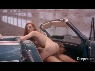 Lacy Lennon - Baby Blue [Deeper] Blowjob, Deepthroat, Reverse Co