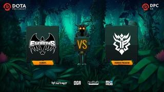 EGOBOYS vs Thunder Predator, Dota Pro Circuit 2021: S1 - SA, bo3, game 1 [Lex & 4ce]