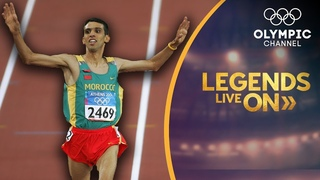 Hicham El Guerrouj continues the run to inspire his native Morocco | Legends Live On