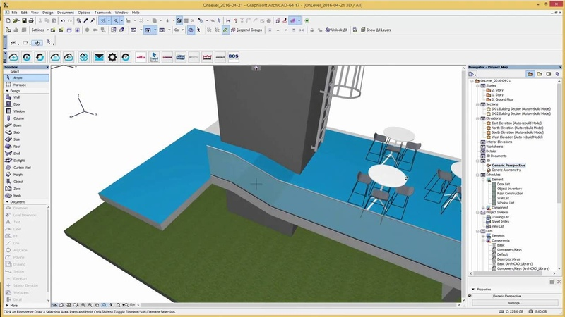OnLevel TL 3010 Glass railings Introduction in ArchiCAD