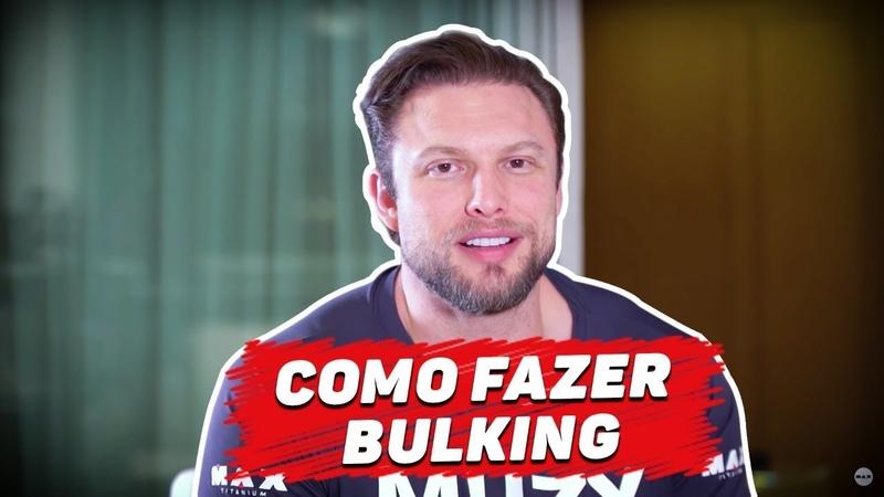 DICAS DE COMO FAZER BULKING | MUZY RESPONDE