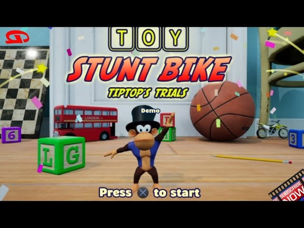Toy Stunt Bike Tiptop's Trials Gry Ps4