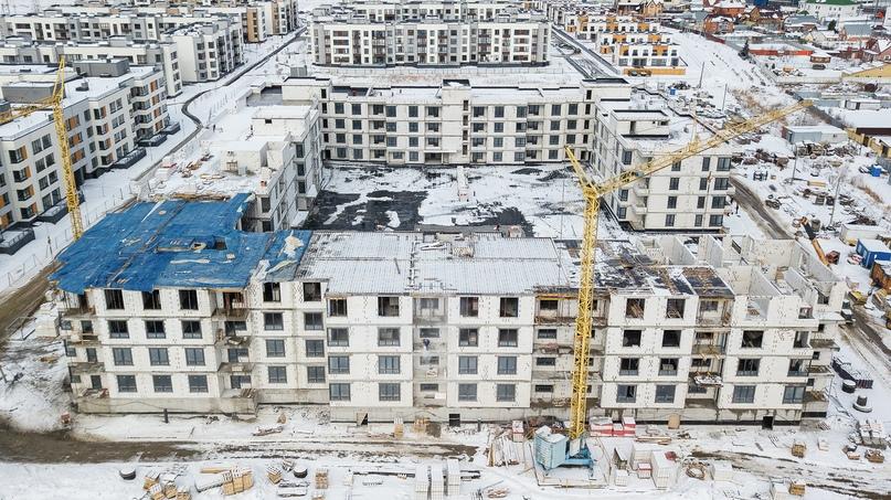 Отчёт о ходе строительства март 2020. ЖК «Ожогино», изображение №12