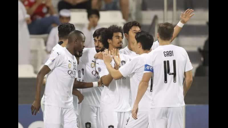 أهداف مباراة السد القطري 3 × 0 سباهان اصفهان الإيراني دوري أبطال آسيا